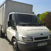 Hayters Animal Feeds Dorset delivery van